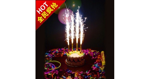 Firework Candle For Birthday Cakes Sparklers Candles