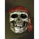 Ghost Rider skeleton masks - Silver