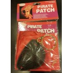 Halloween Pirate Patch with Scarf & Ear Ring