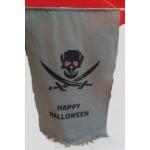Happy Halloween Curtain Flag