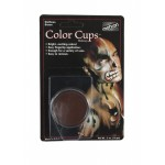 Mehron Color Cups- Wolfman Brown 0.5oz