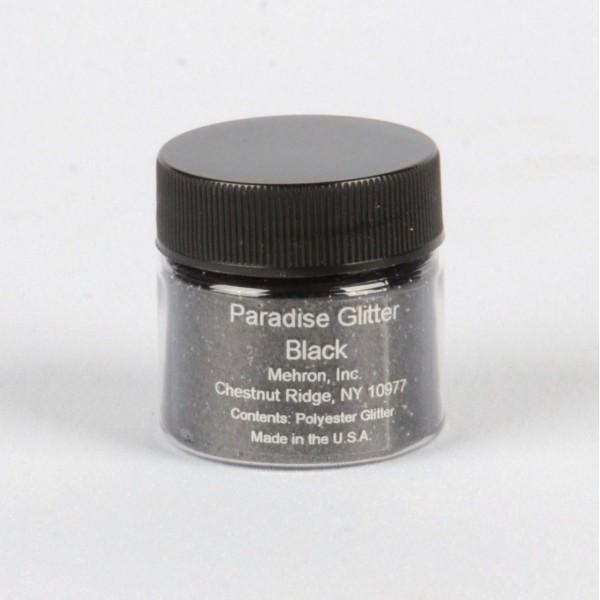 Mehron Paradise Glitter- Black Mehron Makeup