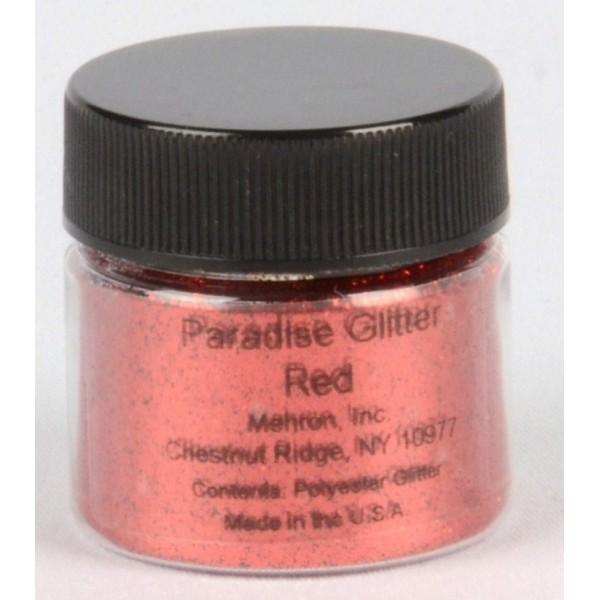 Mehron Paradise Glitter- Red Mehron Makeup