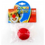 Red Sponge Clown Nose 5cm For Kids