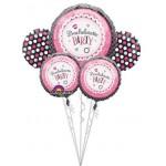 Bachelorette Party Balloon Bouquet 5pc