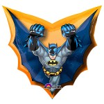 "Batman Cape Shape Foil Balloon 28"" x 27"" inch"