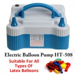 Electric 2 Way Balloons Pump HT-508