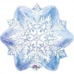 "Let it Snow Snowflake 18"" Inch Balloon"