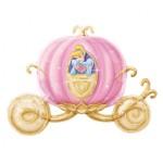 "Princess Cinderella Magic Pumpkin Carriage Supershape 33"" Inch Balloon"