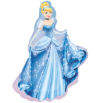 "Princess Cinderella SuperShape 33"" Inch Balloon"