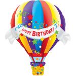 Qualatex 42 inch Birthday Hot Air Balloon