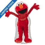 "Sesame Red Elmo SuperShape 30"" x 34"" Inch Balloon"