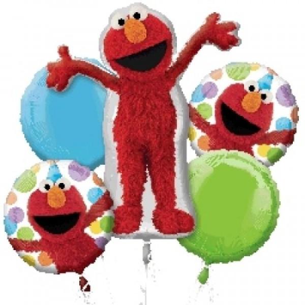 Sesame Street Elmo Style Birthday 5 pcs Anagram