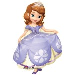 Anagram 26 x 35 inch Sofia The First Princess