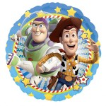 """Toy Story BUZZ & WOODY Round 18"""" Inch Balloon"""