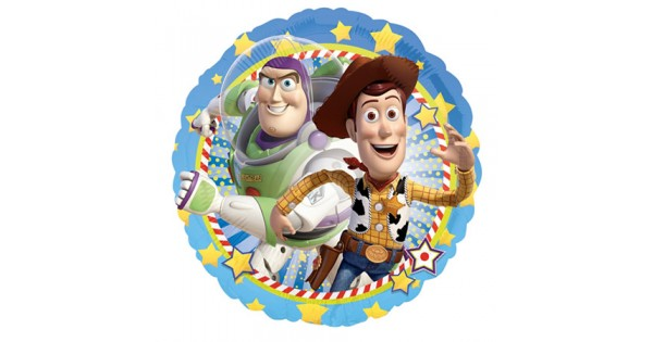 Toy story buzz amp woody round 18 inch balloon from category character