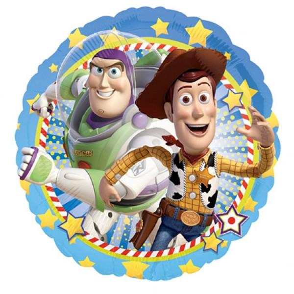 Toy Story BUZZ & WOODY Round 18 Inch Balloon Anagram
