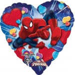Anagram 17 inch Ultimate Spiderman Love Heart