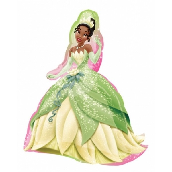 Princess Tiana And The Frog 32 Inch Supershape Balloon