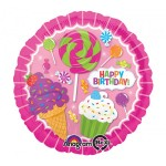 Anagram 17 inch Sweet Shop Birthday