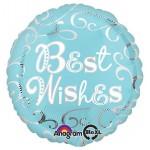 Anagram 12 inch Best Wishes Good Luck Balloon