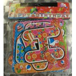 Happy Birthday Cake Paper Banner