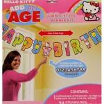 Hello Kitty Jumbo Add An Age Banner