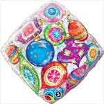 Qualatex 18 inch Diamond Ornaments Accent Patterns