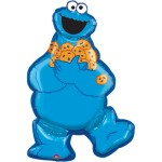 Sesame Street Cookie Monster SuperShape 31 Inch Balloon