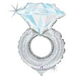 Betallic Mini Silver (Platinum) Wedding Ring Holographic