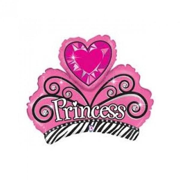 Betallic Mini Shape Princess Tiara Balloon