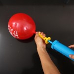 Double Action Balloon Hand Pump