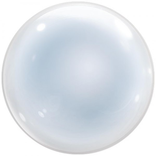 Deco Bubbles - 24 Inch T-Balloon Clear (555 MM) From Japan