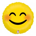 Betallic 18 inch Emoji Smiley Balloon