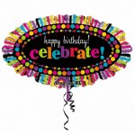 "Anagram 31"" Inch Party On Celebration Happy Birthday Balloon"