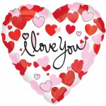 Anagram 17 inch I Love You Hearts Equal Love
