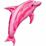Anagram 37 x 22 inch Dolphin Pink
