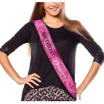 Amscan Birthday Princess Fabric Sash