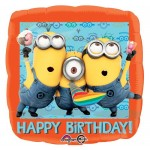 Anagram 17 inch Despicable Me Happy Birthday Balloon