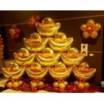 Special 36 Inch Gold Ingot Foil Balloon