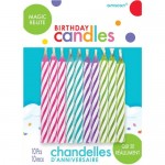 Amscan Magic Re-Lite Candles ~ 10pcs