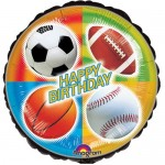 Anagram Championship Sport Birthday 18 Inch Balloon