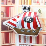 "Anagram 33"" Inch Pirate Party Ship SuperShape Foil Balloon"