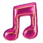 Betallic 40 Inch Pink Color Double Music Note