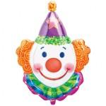 "Anagram 33"" Inch Juggles Clown SuperShape Balloon"