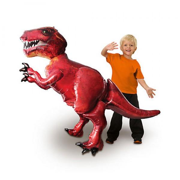 """Airwalker Balloon - Anagram 68"""" Inch T-Rex Tyrannurus Rex Airwalker Dinosour"""