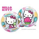 "Qualatex 22"" Inch Hello Kitty Birthday Bubble Balloon"