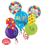 Balloon Bash Bouquet 5pc