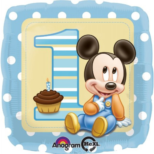 Anagram 18 Mickey 1st Birthday Anagram