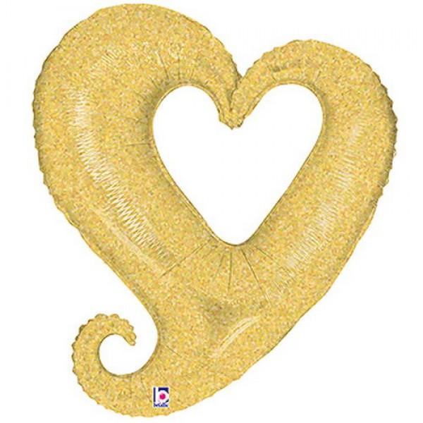Wedding & Anniversary - Betallic 37 Chain of Hearts - Champagne Holographic